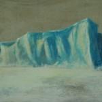 heidi-heiser-_-eisberg-i-_-acryl-auf-leinwand-_-40x80-_-2010-_-acryl-auf-leinwand