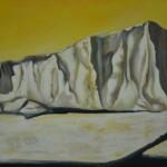 heidi-heiser-_-eisberg-in-gelb-_-60x100-_-2011-_-acryl-auf-leinwand